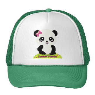 Kawaii Panda Hat