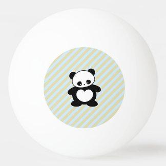 Kawaii panda ping pong ball
