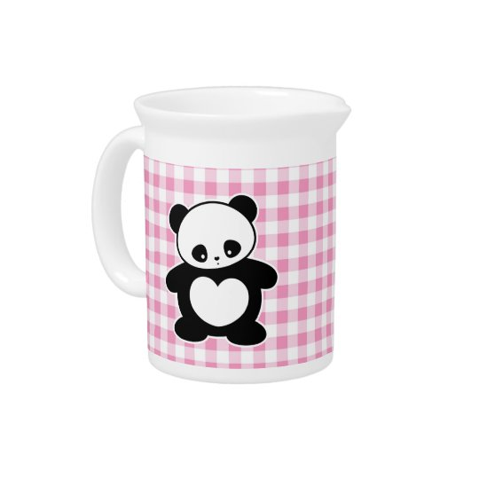 Kawaii panda pitcher