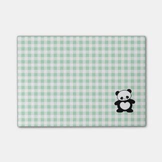 Kawaii panda post-it notes