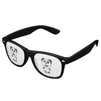 Kawaii Panda Retro Sunglasses