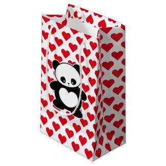 Kawaii panda small gift bag