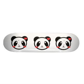 Kawaii Pandie Luv 21.6 Cm Skateboard Deck