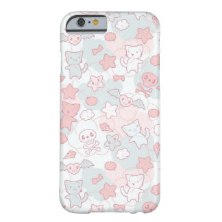 kawaii pattern with doodle barely there iPhone 6 case