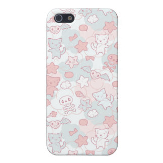 kawaii pattern with doodle case for the iPhone 5
