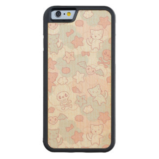 kawaii pattern with doodle maple iPhone 6 bumper case