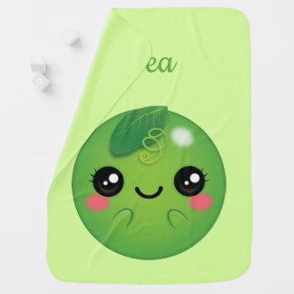 Kawaii Pea Baby Blanket