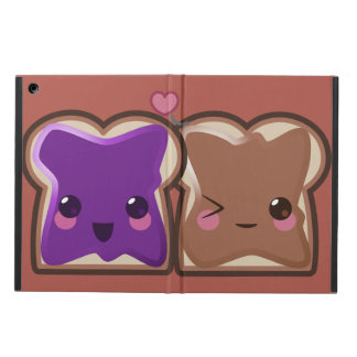 Kawaii Peanut Butter and Jelly Friends Case For iPad Air