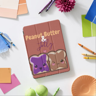 Kawaii Peanut Butter and Jelly Friends iPad Air Cover