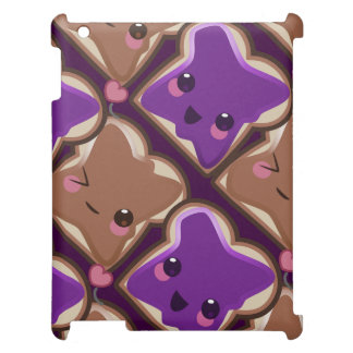 Kawaii Peanut Butter and Jelly Friends iPad Cover