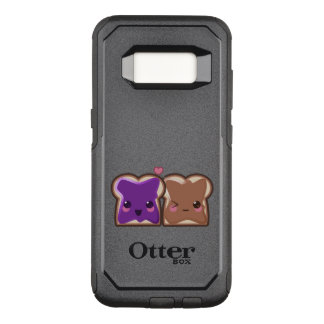 Kawaii Peanut Butter and Jelly Friends OtterBox Commuter Samsung Galaxy S8 Case