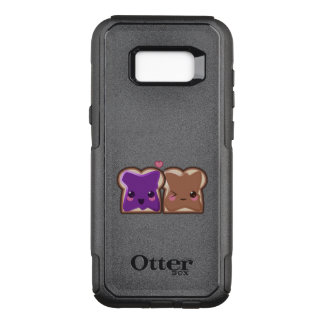 Kawaii Peanut Butter and Jelly Friends OtterBox Commuter Samsung Galaxy S8+ Case