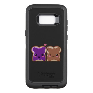 Kawaii Peanut Butter and Jelly Friends OtterBox Defender Samsung Galaxy S8+ Case