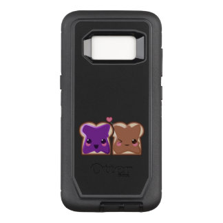 Kawaii Peanut Butter and Jelly Friends OtterBox Defender Samsung Galaxy S8 Case