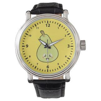 Kawaii Pear Watch