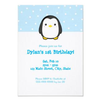 Kawaii Penguin Card