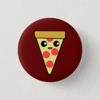 Kawaii Pizza 3 Cm Round Badge