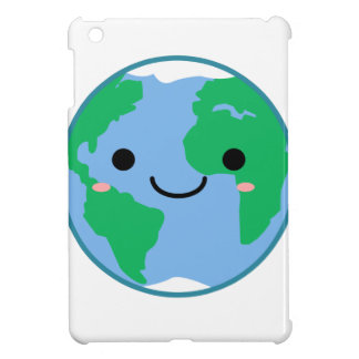 Kawaii Planet Earth iPad Mini Cover