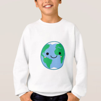 Kawaii Planet Earth Sweatshirt