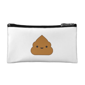 Kawaii Poop Cosmetic Bag
