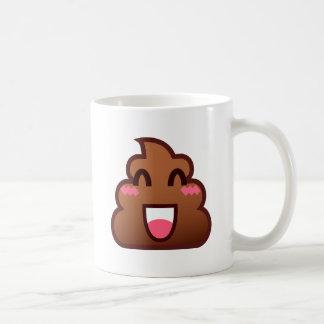kawaii poop emojis coffee mug