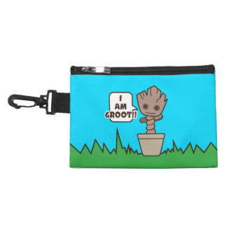 Kawaii Potted Groot Accessory Bag