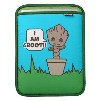 Kawaii Potted Groot iPad Sleeve