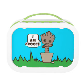 Kawaii Potted Groot Lunch Box