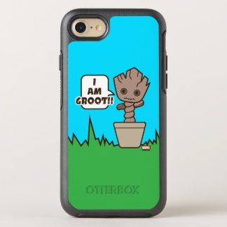 Kawaii Potted Groot OtterBox Symmetry iPhone 8/7 Case