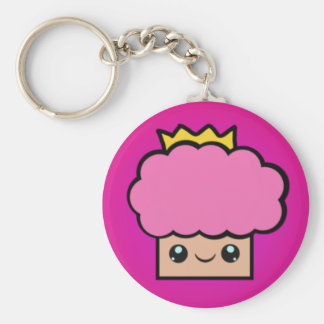 Kawaii Princess Cupcake Key Ring