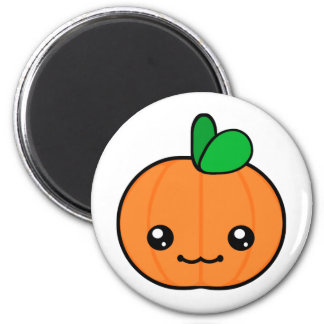 Kawaii Pumpkin Halloween Magnet