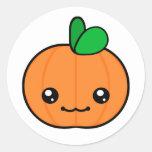 Kawaii Pumpkin Halloween Sticker