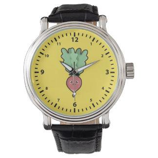 Kawaii Radish Wristwatches