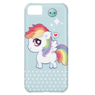 Kawaii rainbow pony iPhone 5C case