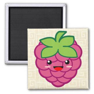 Kawaii Raspberry Magnet