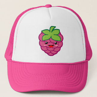 Kawaii Raspberry Trucker Hat