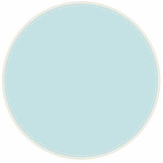KAWAII RIBBON AND POLKADOTS PASTEL BLUE CUT OUTS