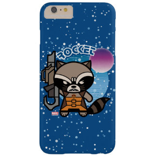 Kawaii Rocket Raccoon In Space Barely There iPhone 6 Plus Case