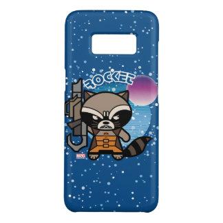 Kawaii Rocket Raccoon In Space Case-Mate Samsung Galaxy S8 Case