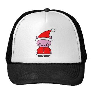 Kawaii Santa Cat Trucker Hat