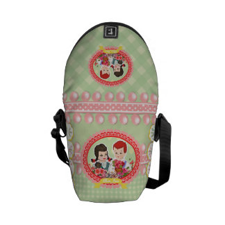 Kawaii Schoolchildren Kitsch Durable Boutique - Courier Bag