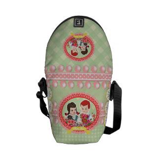Kawaii Schoolchildren Kitsch Durable Boutique - Messenger Bag