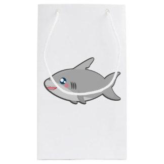 Kawaii shark giftbag small gift bag