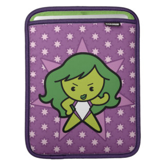 Kawaii She-Hulk Flex iPad Sleeve