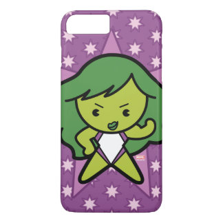 Kawaii She-Hulk Flex iPhone 8 Plus/7 Plus Case