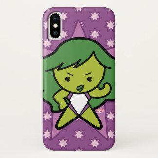Kawaii She-Hulk Flex iPhone X Case