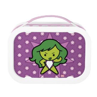Kawaii She-Hulk Flex Lunch Box