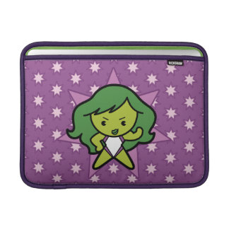 Kawaii She-Hulk Flex MacBook Sleeve