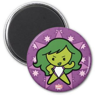 Kawaii She-Hulk Flex Magnet