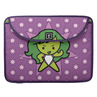 Kawaii She-Hulk Flex Sleeve For MacBooks